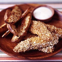 Photo of Chicken Fingers with Ranch Dip and Seasoned Fries by WW