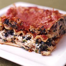 Photo of Two-cheese vegetable lasagna by WW