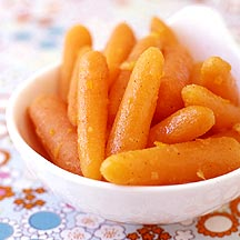 Photo of Sweet-orange roasted baby carrots by WW