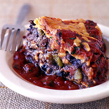 Photo of Mexican bean and tortilla pie by WW