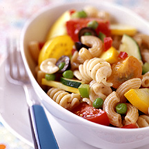 Photo of Pot-luck pasta salad by WW