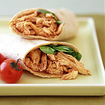 Photo of Pulled chicken barbecue wrap by WW
