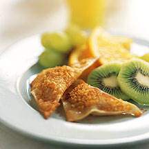 Photo of Fruit-filled breakfast wontons by WW