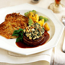 Photo of Tenderloin of Beef with Blue Cheese and Herb Crust by WW