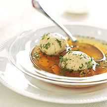 Photo of Vegetarian matzo ball soup by WW