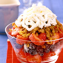 Photo of Red, white, and blueberry crisp by WW