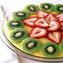 Photo of Strawberry-kiwi banana cream pie by WW