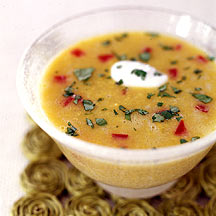 Photo of Fresh curried corn soup by WW
