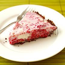 Photo of Raspberry frozen yogurt pie by WW