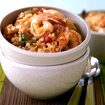 Shrimp and Chicken Jambalaya
