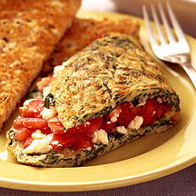 Photo of Spinach, Tomato and Feta Omelet by WW