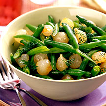 Photo of Green beans with caramelized onions by WW