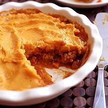 Photo of Turkey shepherd's pie with mashed sweet potatoes by WW