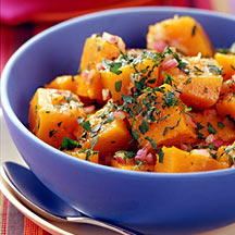 Photo of Butternut Squash Salad with Curry-Apple Dressing by WW