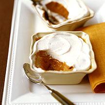 Individual Baked Pumpkin Custards