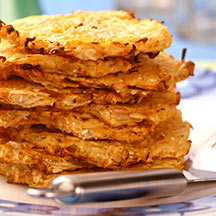 Photo of Hanukkah potato pancakes by WW