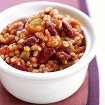 Slow Cooker Red Beans and Barley