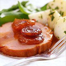 Photo of Apricot-citrus stuffed ham by WW