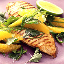 Photo of Grilled chicken and key lime salsa by WW