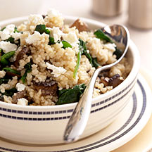 Photo of Mushroom and spinach couscous by WW