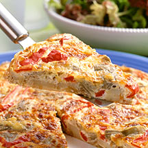 Photo of Artichoke and Red Pepper Frittata by WW