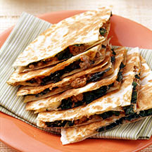 Photo of Beef, Blue Cheese and Spinach Quesadillas by WW