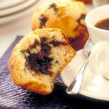 Photo of Blueberry-Stuffed Mini Muffins by WW