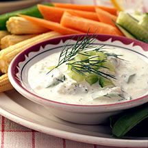 Photo of Dill-cucumber dip by WW