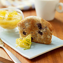 Photo of Toasted Blueberry Muffin with Warm Citrus Compote by WW