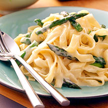 Photo of Spring Asparagus and Lemon Fettuccine by WW