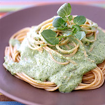 Photo of Spaghetti with Creamy Herb Sauce by WW