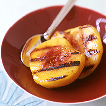 Photo of Grilled cinnamon peaches by WW