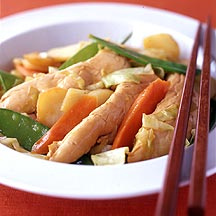 Photo of Chicken and Chinese vegetable stir-fry by WW