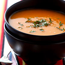 Photo of Curried butternut squash soup by WW