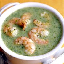 Photo of Broccoli and shrimp chowder by WW