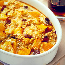 Photo of Breakfast Bread Pudding with Peaches by WW