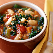 Photo of Hearty Tuscan vegetable chowder by WW