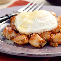 Photo of Mexican potato hash with poached eggs by WW
