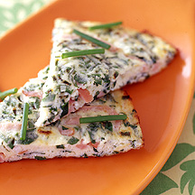 Photo of Frittata with herbed ricotta cheese and Canadian bacon by WW