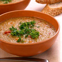 Photo of Red lentil soup by WW