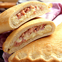 Photo of Ham and cheese calzone by WW