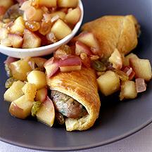 Photo of Sausage Breakfast Wrap with Apple Chutney by WW