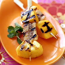 Photo of Grilled tropical fruit kabobs by WW
