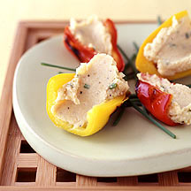 Photo of Grilled, stuffed baby peppers by WW