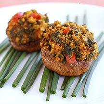 Photo of Creole-style stuffed mushrooms by WW
