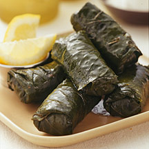 Photo of Stuffed grape leaves with pine nuts and currants by WW