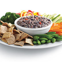 Photo of Spicy Green Chili-Tomato Black Bean Dip with Cool Yogurt by WW