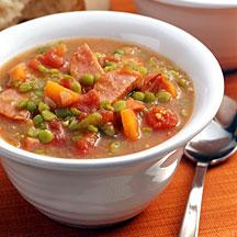 Photo of Kielbasa-bean slow cooker soup by WW