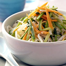 Photo of Cellophane Noodles with Garlic, Cucumbers and Cilantro by WW