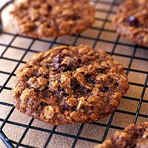 Photo of Chocolate cherry oatmeal cookies by WW